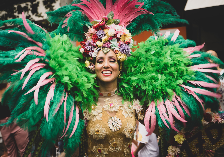 Oito festas de Carnaval no mundo