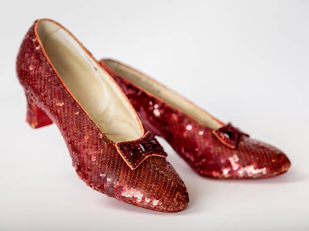 Zapatos de Dorothy, en el Museo de la Academia de Cine en Los Ángeles