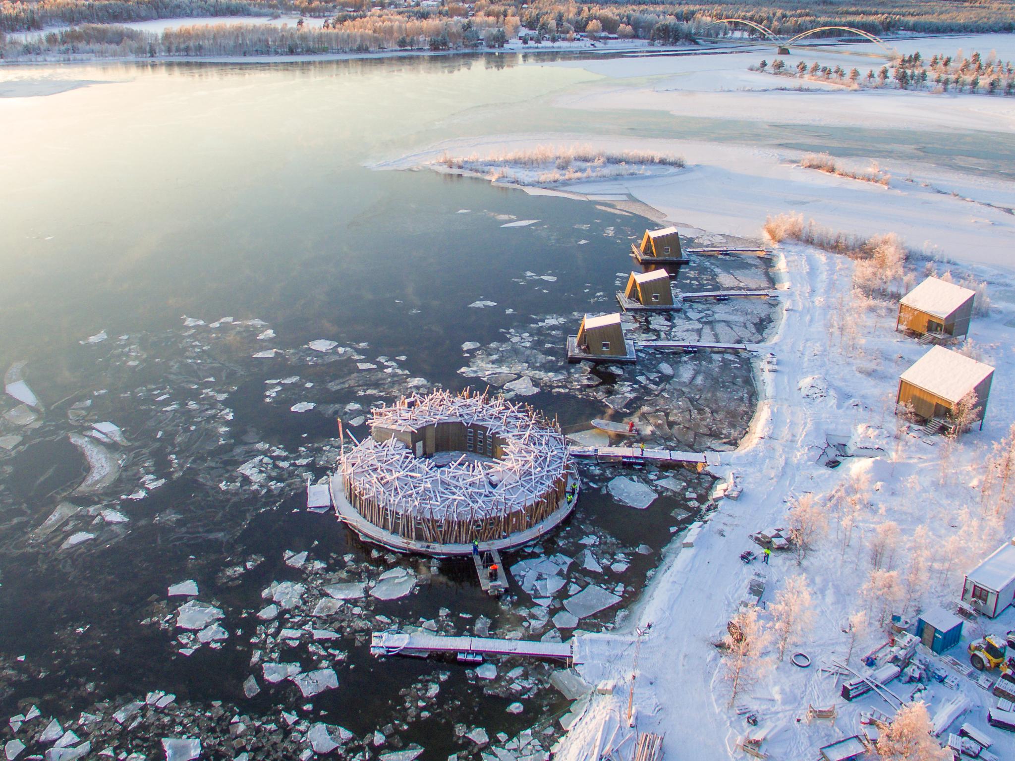 Arctic Bath Hotel, Laponia sueca