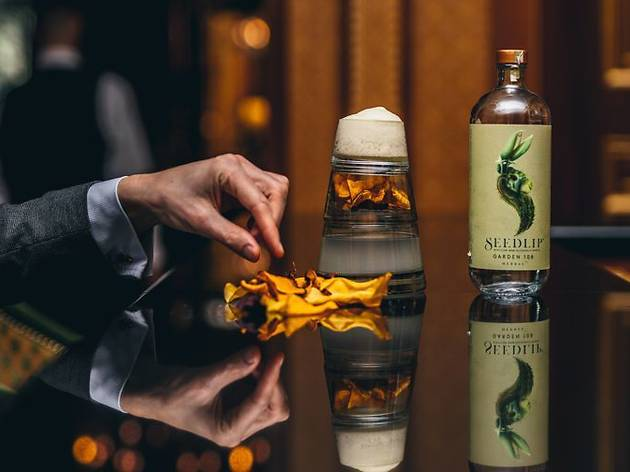 Get treated to a premium free cocktail from Seedlip