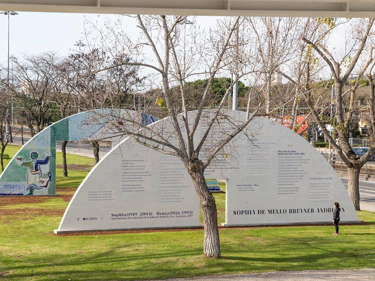 Memorial de homenagem a Sophia e Menez