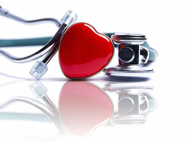 estetoscopio coração