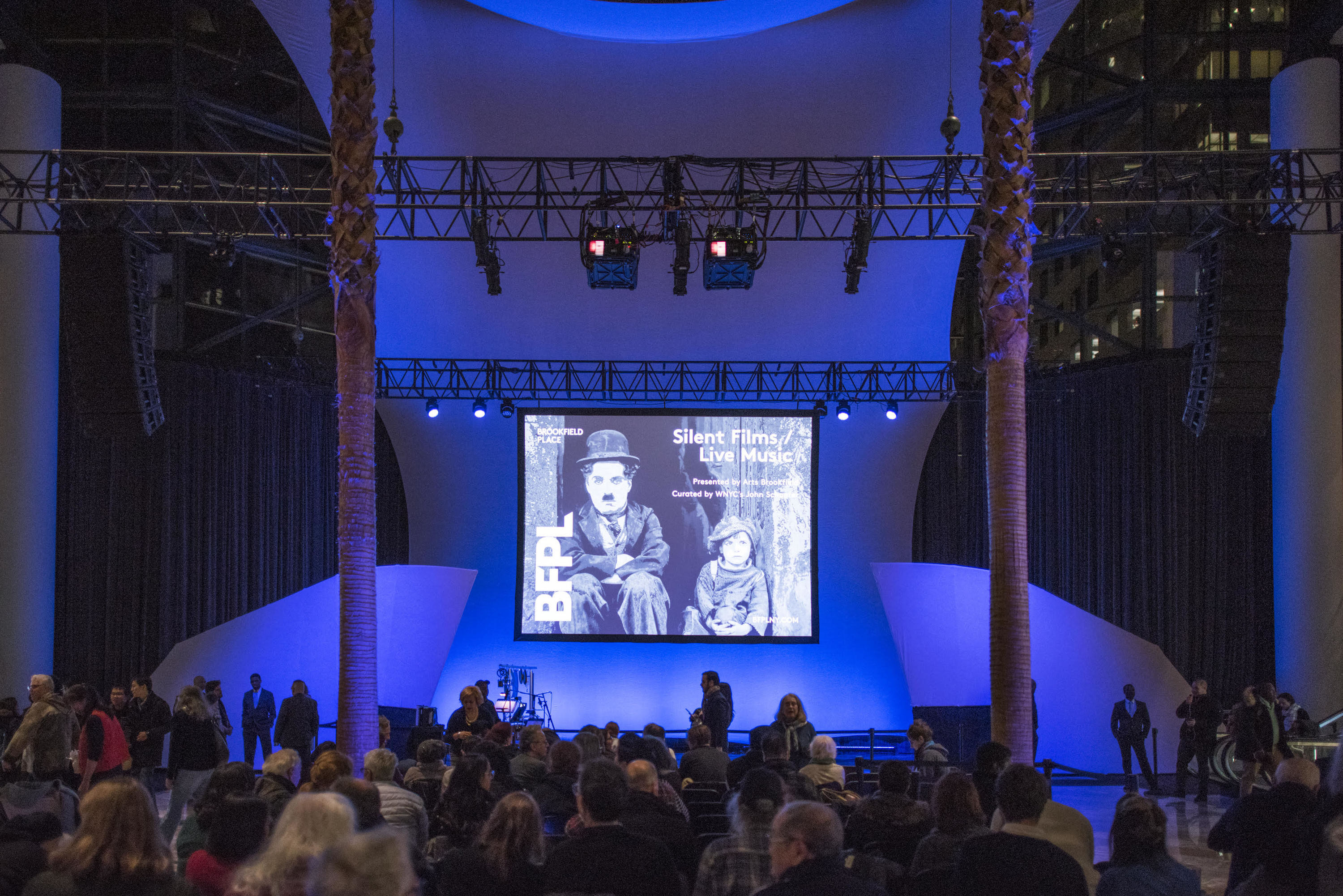 Silent Film/Music at Brookfield Place