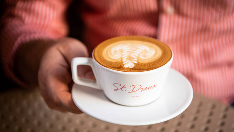 Coffee at St Dreux Cafe