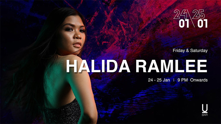 Halida Ramlee Live at U-Bar
