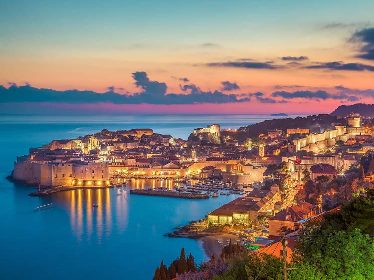 Drop into ancient Dubrovnik