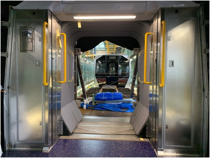 See inside the new open gangway subway cars that are coming to NYC