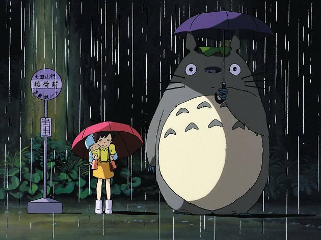 Mi vecino Totoro, película del Studio Ghibli
