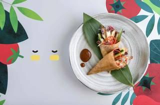 Miss LEE signature dish; Flower Bouquet-PR-24-01-2020