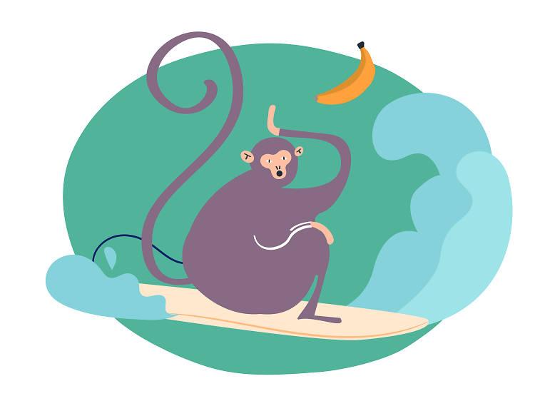 Monkey: 1932, 1944, 1956, 1968, 1980, 1992, 2004...