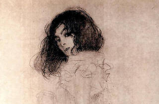 Portrait of a Young Woman by Gustav Klimt