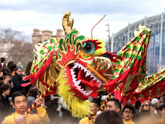 Celebració de l'Any nou xinès a Barcelona