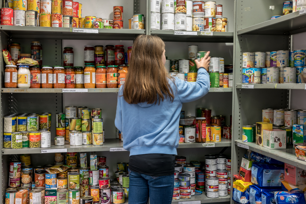 Food bank in London