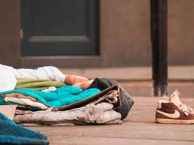 Homelessness in London