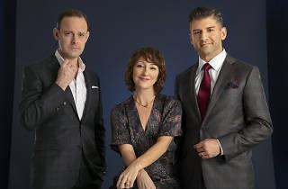 Hadden-Paton, Carmen Cusack and Tony Yazbeck