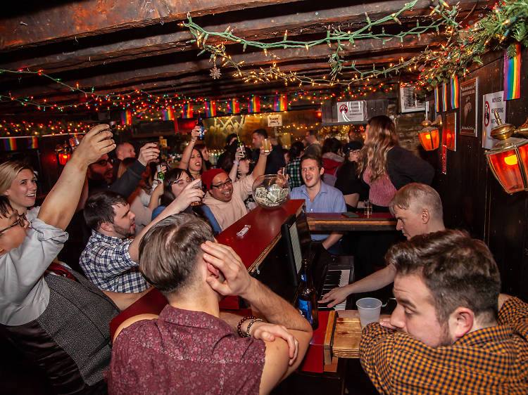 Feast at Minetta Tavern, then drink and sing at Marie's Crisis Café