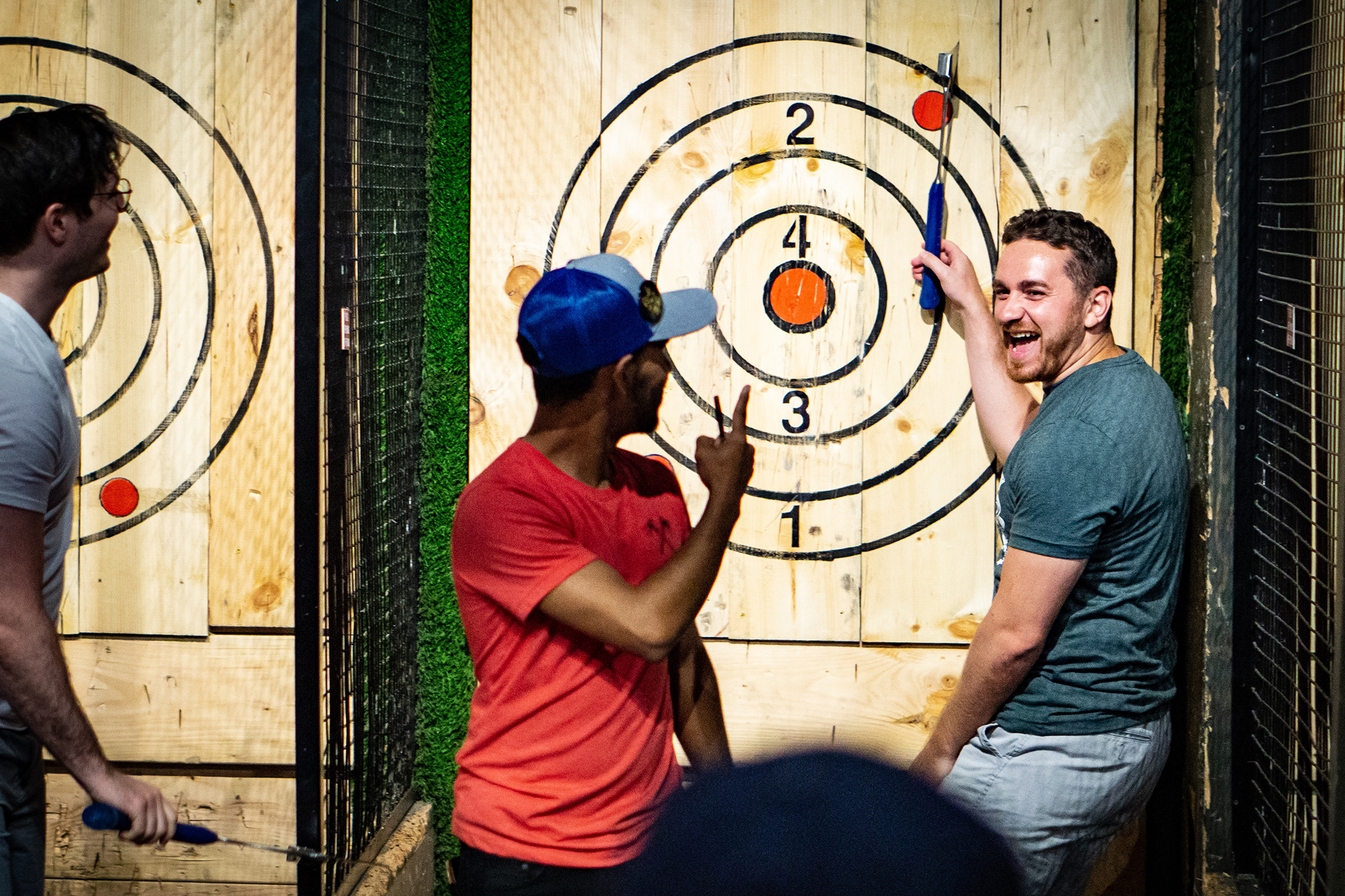 Kick Axe Throwing