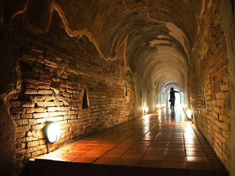 The Kotel Tunnels