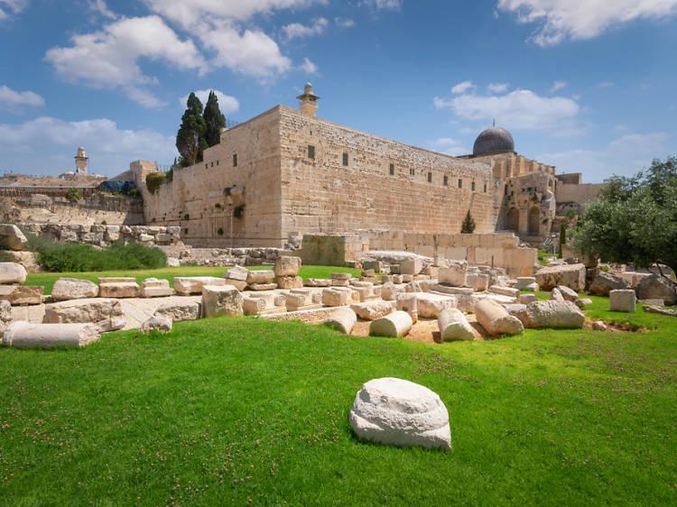 The Jerusalem Archeological Park - Davidson Center