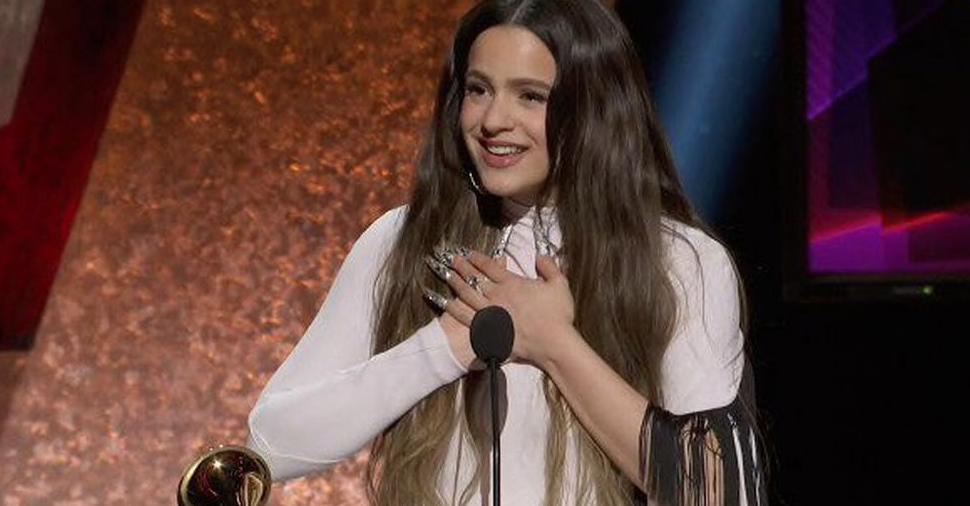 Rosalía guanya el Grammy a millor àlbum llatí alternatiu