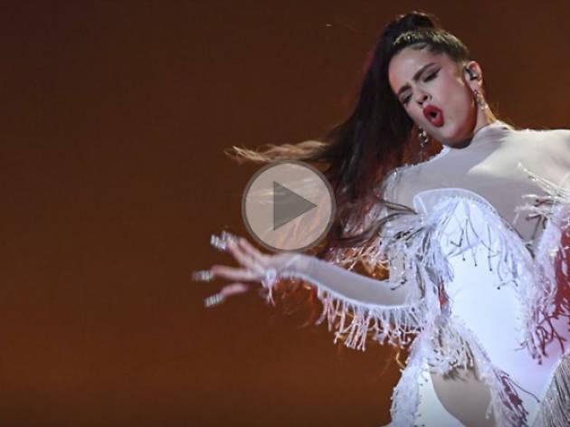 Actuación de Rosalía en los Grammys 2020
