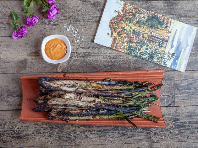 Calçots a Can Travi Nou