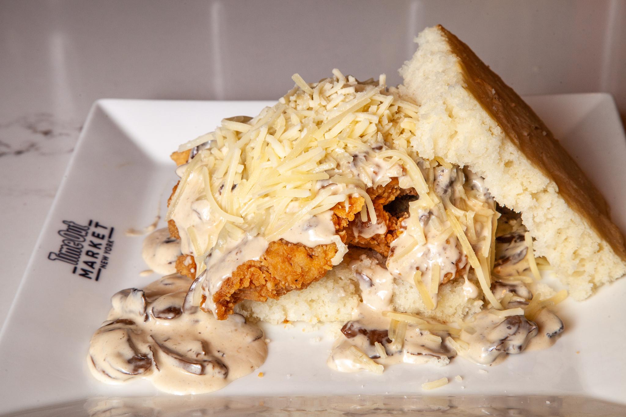 Food Envy: Jacob's Pickles's Mushroom Gravy Fried Chicken Sandwich