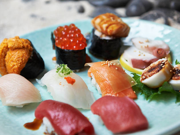 Sushi en la CDMX