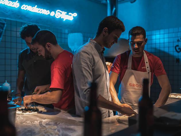 Planplanner Masterclass de pizza en Grosso Napoletano