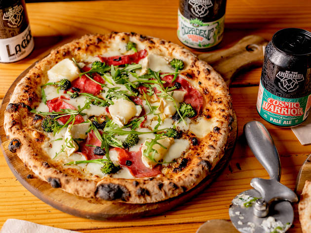 Black Garlic Free Pizza on National Pizza Day