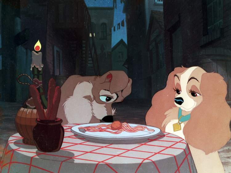 """""""Bella Notte"""" (Lady and the Tramp)"""