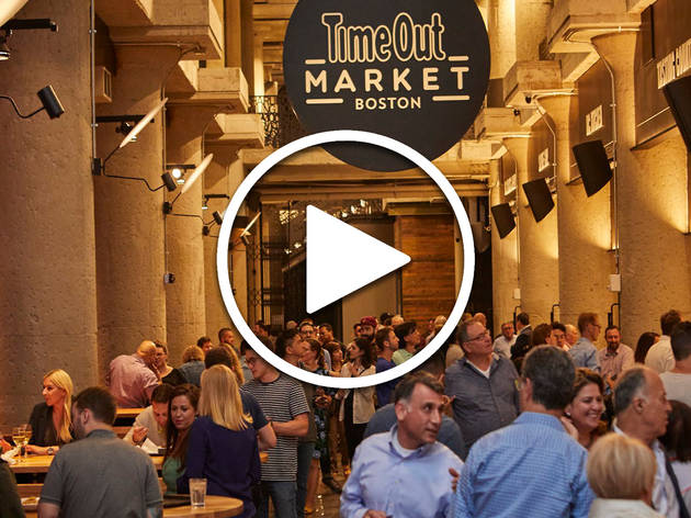Take a tour of Time Out Market Boston