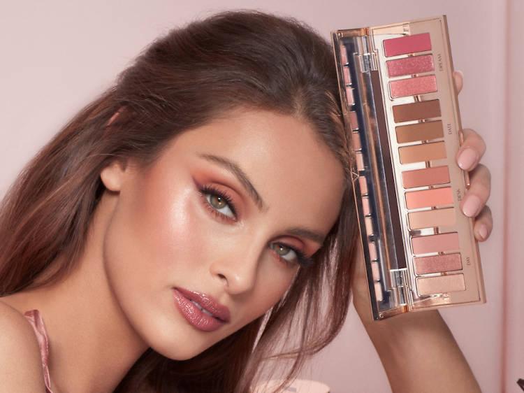 Eye-popping makeup