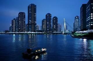 東京・夜桜舟あそび