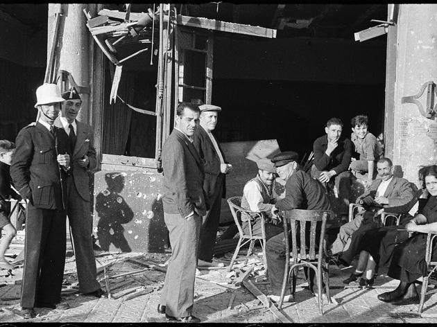 Supervivents del bombardeig del passaig Nacional de la Barceloneta. 29 de maig de 1937