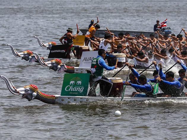 Elephant Boat Race & River Festival