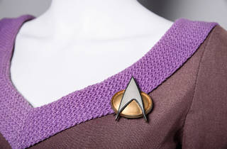 Deanna Troi Starfleet uniform (Photograph: Courtesy Brady Harvey/Paul G. Allen Family Foundation)