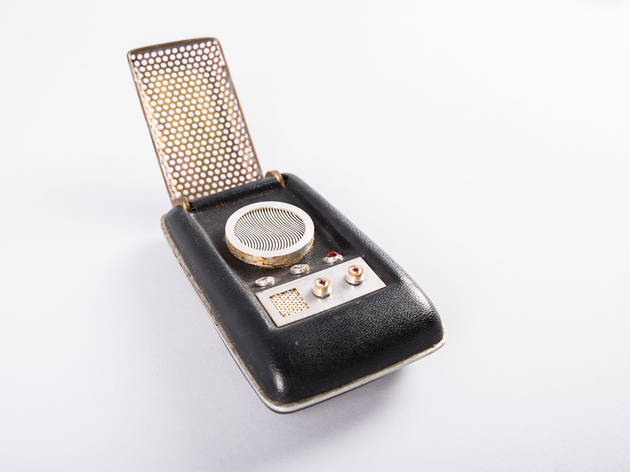 Communicator from Star Trek (Photograph: Courtesy Brady Harvey/Paul G. Allen Family Foundation)