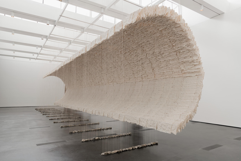 Zhu Jinshi, Wave of Materials, 2007
