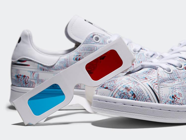 Adidas Originals:Mickey Mouse 白波鞋