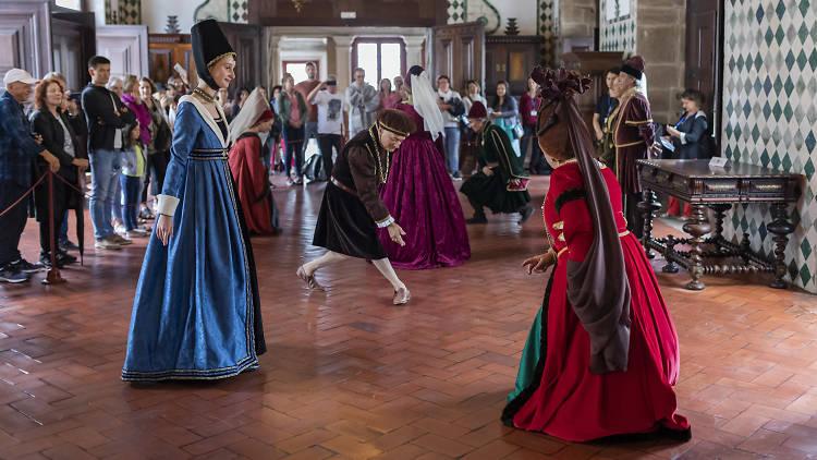 Danças com história palácio nacional de sintra