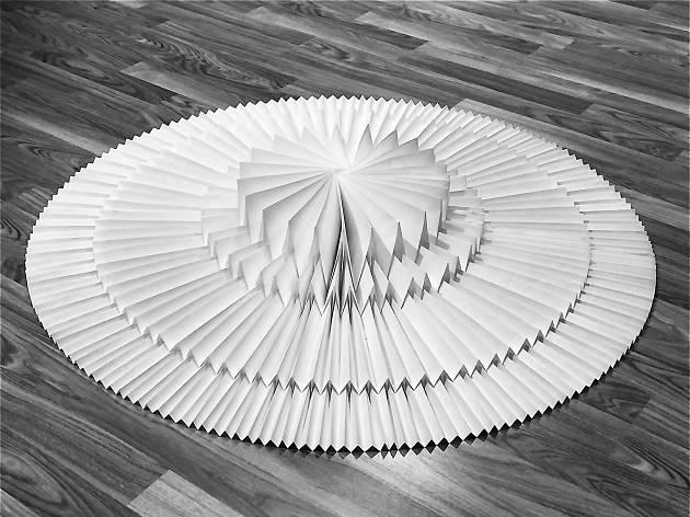 Tomko Fuse - Origami Installation