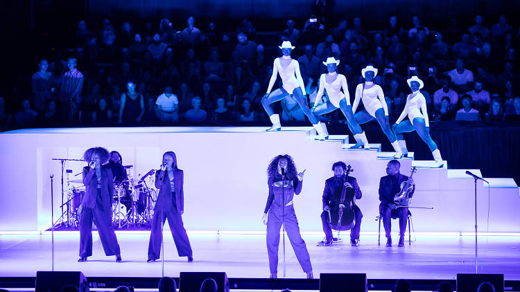 Solange performs Witness! at the Sydney Opera House