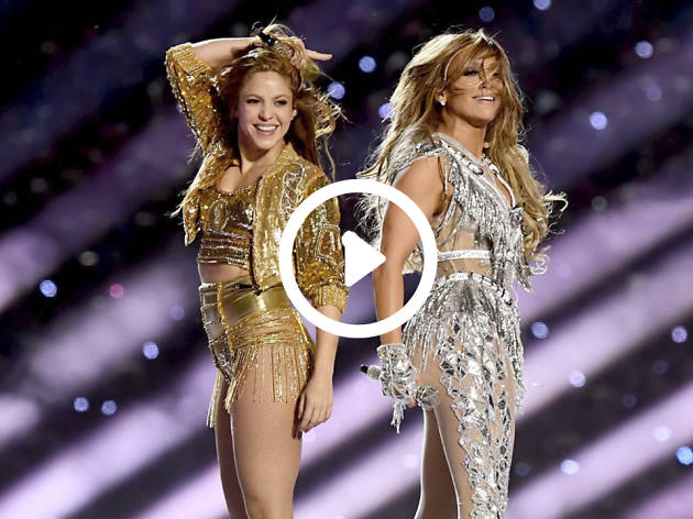 Jennifer López i Shakira. Super Bowl 2020