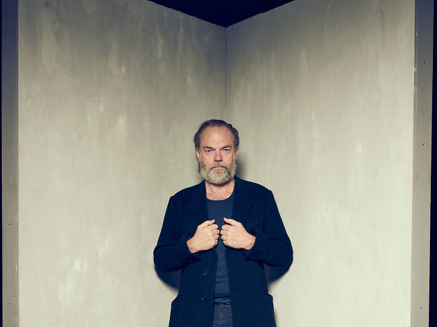 Hugo Weaving on his debut at London's National Theatre
