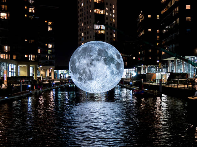 Museum of the Moon, de Luke Jerram