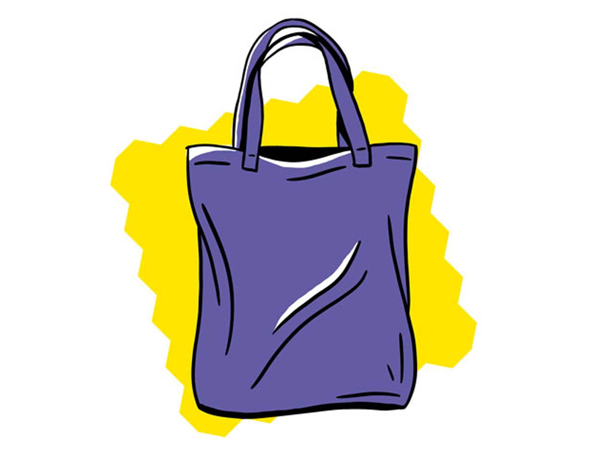 Tote bag graphic for Make Your Own feature
