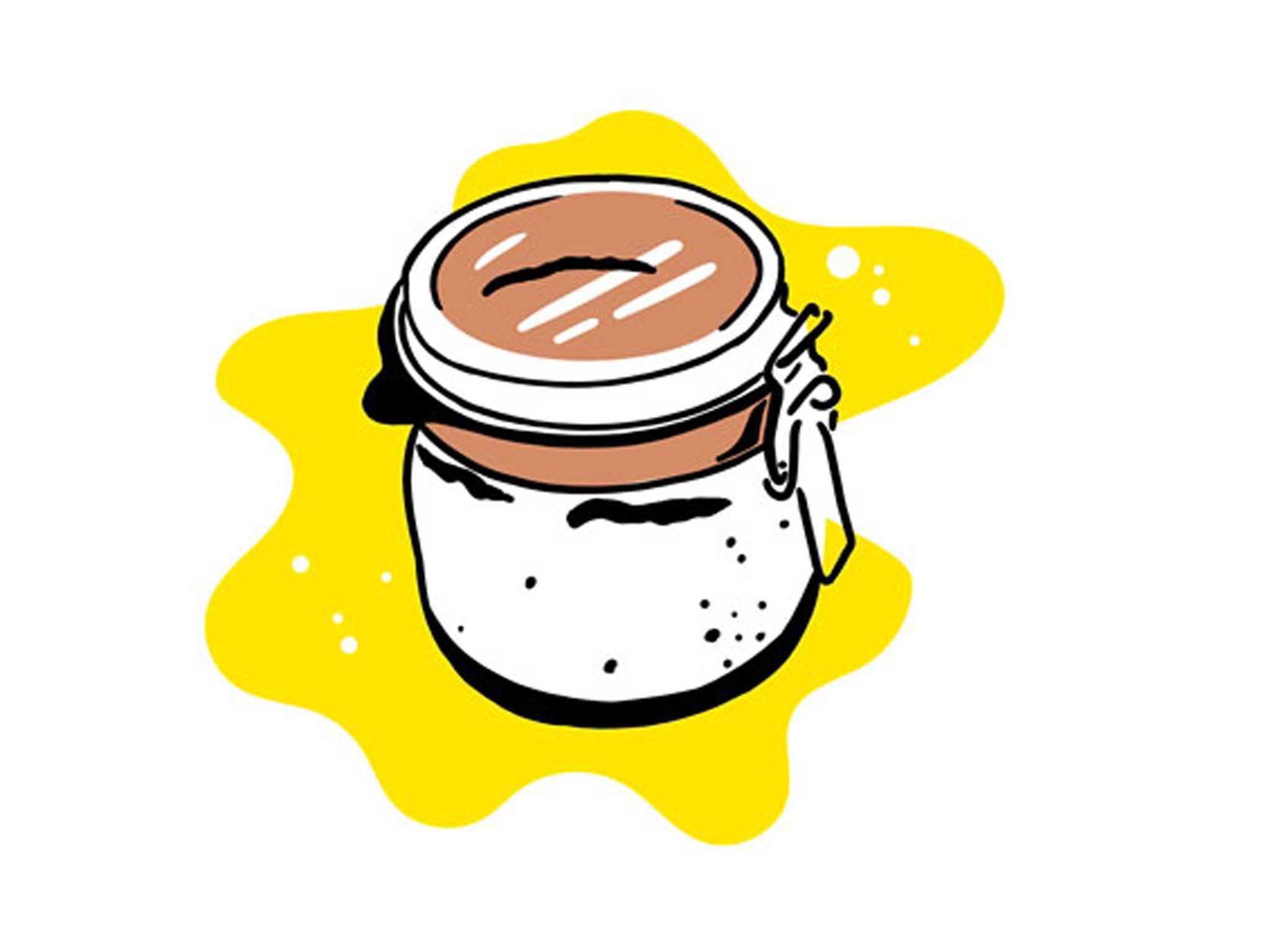 Sourdough starter graphic for Make Your Own feature