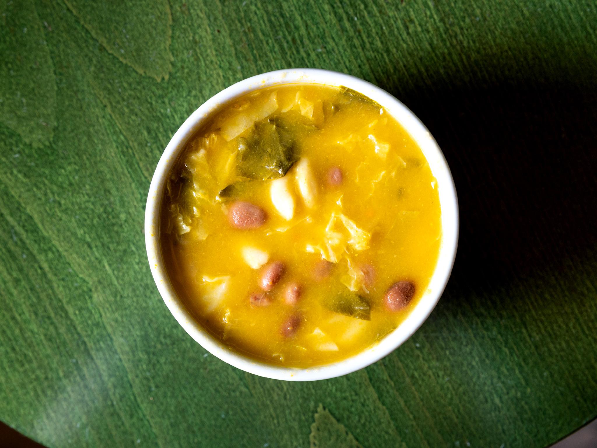 A Tendinha - Sopa de feijão branco