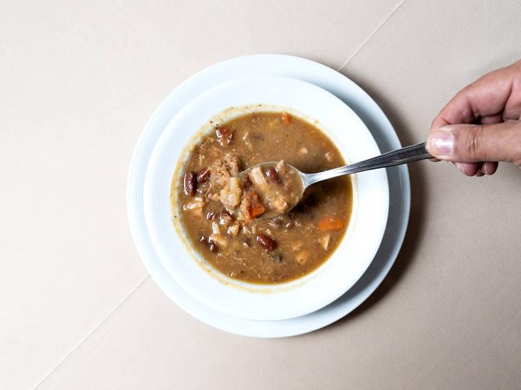 Sopa de Cozido das Furnas - Espaço Açores